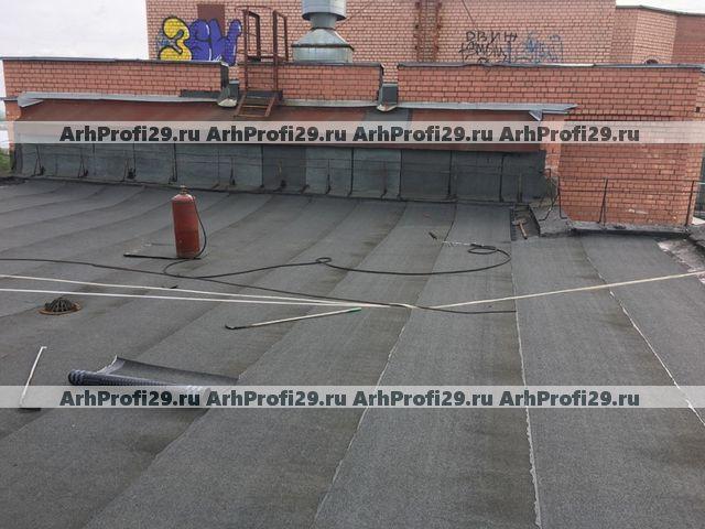 ТСЖ Советская: ремонт кровли