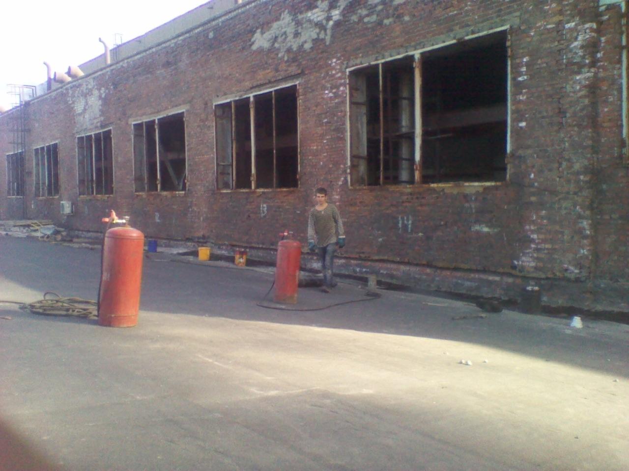 АЦБК: капитальный ремонт кровли здания ТЭЦ