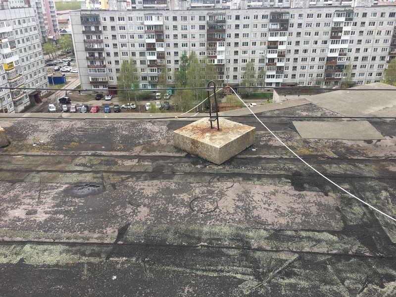 ТСЖ Моряк (Попова): капитальный ремонт кровли